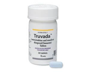 Truvada pill bottle